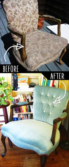 DIY Furniture Makeovers - Refurbished Furniture and Cool Painted Furniture Ideas for Thrift Store Furniture Makeover Projects Thrift Store Furniture, Diy Furniture Easy, Furniture Repair, Refurbished Furniture, Repurposed Furniture, Furniture Projects, Furniture Making, Furniture Makeover, Painted Furniture