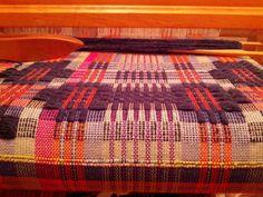 more catalpa flowers from Marguerite Davison: A Handweaver's Pattern Book | overshot | cotton + wool + rag
