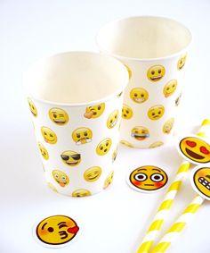 Emoji Gobelets de Fête en Carton   BirdsParty.fr – Bird's Party