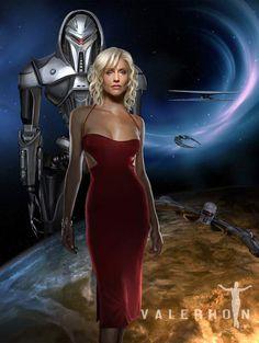 Tricia Helfer ✾ as Number Battlestar Galactica Battlestar Galactica, Kampfstern Galactica, Salman Khan, Tricia Helfer Hot, Aliens, 11 Avril, Best Sci Fi, Sci Fi Shows, Classic Sci Fi