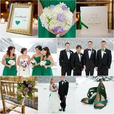 green winter wedding natale matrimonio in verde