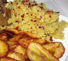 Modern African Cuisine: My week Rice Recipes, Real Food Recipes, Cooking Recipes, Yummy Food, Cooking Ideas, Nigeria Food, Easter Dishes, West African Food, Bonheur