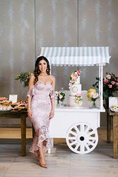 Amalfi Coast-Inspired Bridal Shower Simple Elegant Wedding, Timeless Wedding, Strapless Dress Formal, Prom Dresses, Formal Dresses, Bridal Shower Photography, Amalfi Coast Wedding, Wedding News