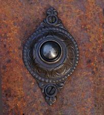 Klingel im Gründerzeit-Stil, Türklingel Antik-Eisen - sehr schön verziert
