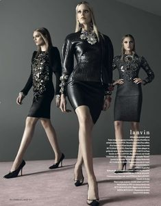 Luxe Amazonian Editorials : L'Officiel Ukraine 'Urban Amazon'