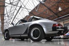 Porsche 911 Targa 3.2 seen at Sportwagen Klassiker Berlin, Classic Remise Berlin