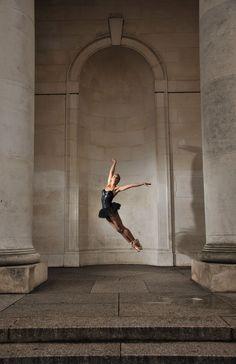"""""""Ballerina in Black"""" by Suzanne Edge, via 500px."""