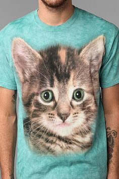 Trend: Cat Shirts For Dudes #urbanoutfitters