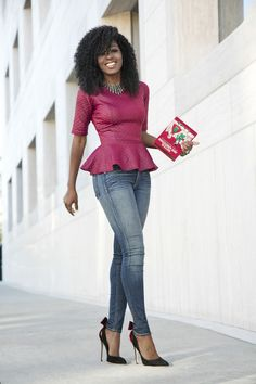 Peplum: a modelagem perfeita para um visual feminino e elegante