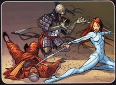 Colleen Wing (Daughter of the Dragon)