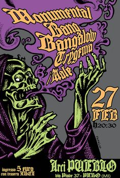 DANIELE PASQUETTI- MONUMENTAL-BANG BANGALOW-TRYGEMA-I MALE (danielepasquetti1@gmail.com) #death #monumental #bangbangalow #trygema #imale #arcipueblo #sludge #doom #southern #metal #horror #esoteric #evildead #psychedelic #smoke
