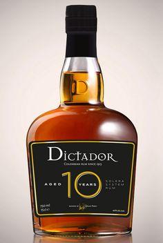 olivier lancement rhum dictador bouteille