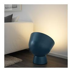 IKEA - IKEA PS 2017, Floor lamp with LED bulb, You can create a ambiance of cozy light by pointing the lamp against a wall, painting or something you care for a lot.