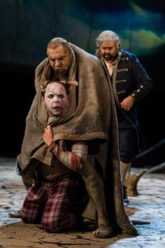 Burza / The Tempest - Royal Shakespeare Company (Simon Russell Beale as Prospero, Mark Quartley as Ariel) #RSC