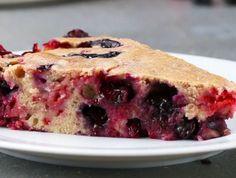 Recette facile de gâteau aux fruits d'été!