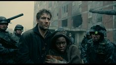 Amazing set design but more amazing are the colors of the scene - Children of Men