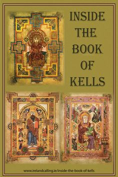The Book of Kells is written in an insular majuscule script which was the calligraphy used by the Irish and British monks for their fine manuscripts. Although parts of the Gospel of John and some other material have been lost, the Book remains one of the most spectacular pieces of Insular Art ever created; a beautiful, elaborate fusion of Celtic and Christian cultures.