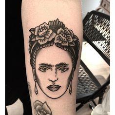 Image result for frida kahlo traditional tattoo