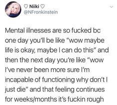 Mental Health Art, Mental Illness, Its Okay, I Can, Feelings, Life, Its Ok, Mental Health
