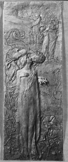 The Marriage of Death - Leonardo Bistolfi