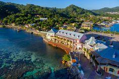 THE CARIBBEAN ISLANDS: Roatan, Honduras