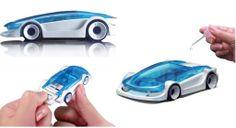 Auto na słoną wodę zabawka edukacyjna na prezent