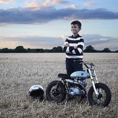 Lucky little dude. Built by @auto_fabrica, via @ironandair #motorcycleculture #culturamotera | caferacerpasion.com