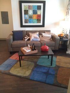 Apartment living room #decor #aspenheights