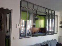 Interior veranda with sliding panels - Verrières-d'intérieur - Ghislain