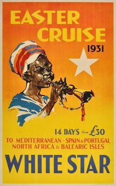Poster: White Star - Easter Cruise 1931 Artist: T.J. Bond