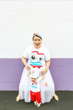 Toy Story Forky Mommy and me outfit 15