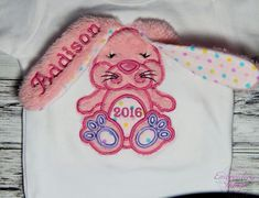 Excited to share the latest addition to my shop: Baby Girls Easter Outfit - Personalized Bunny First Easter Outfit, Floppy Ear Easter Outfit, Toddler Girls Easter Outfit Toddler Girl Easter Outfit, Toddler Girls, Baby Girls, Fancy Tops, Great Father's Day Gifts, Dog Blanket, Baby Bloomers, Diaper Covers, Baby Headbands