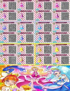 Animal Crossing QR Codes: Go! Princess Precure by SuperAngel502