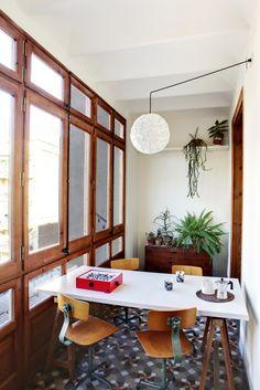 Dos reformas de apartamentos en Barcelona. Anna