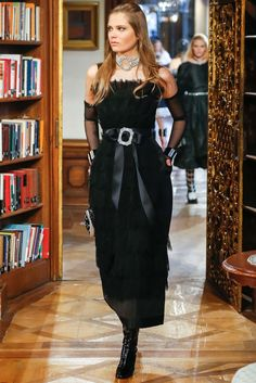 Chanel Pre-Fall 2015 Fashion Show - Caroline Brasch Nielsen