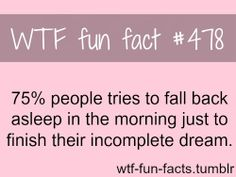 Duhhh who wouldn't go back to sleep to finish their wonderful dream❤️❤️