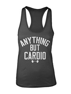 a49ccee5125c5b Manateez Womens Anything But Cardio Racer Back Tank Top XL Charcoal   Want  to know more