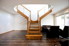 Renovate your old staircase by installing a wooden staircase which becomes a centre piece for your home as well as increases the value of your house.