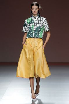 Mercedes-Benz Fashion Week Madrid. Primavera-Verano 2014. YODONA