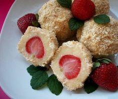 Tvarohové knedle s jahodami | Báječné recepty