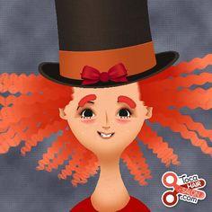 Toca Boca hair mad hatter