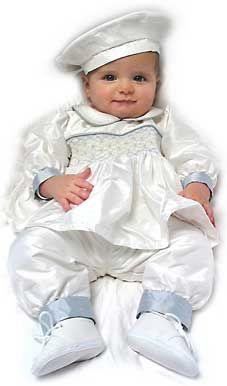 3ba5b8e1b Boy Christening Outfit, Baby Baptism, Christening Gowns, Beret, Cute Boys,  My Children, Smocking, Cuffs, Christening Dresses