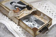 Anne's paper fun: Decorated Matchbox