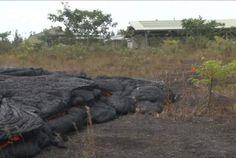 lava flow update in Pahoa