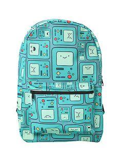 02c4033e74704 Çanta - Pack · Adventure Time BMO Print Backpack   Hot Topic Geek Chic,  Sırt Çantası Deseni, Oyuncak