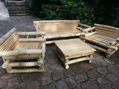 Muebles de bambú                                                                                                                                                      Más