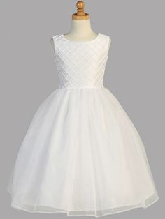 Classic never goes out of style. First Communion Dresses www.BocelliBoutique.com