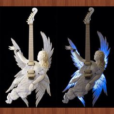 I want an angel guitar!