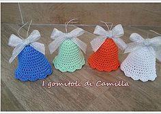 Campanelle colorate da appendere: i tutorial di Camilla