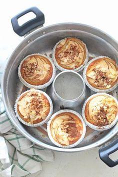 muffin mele, ricotta e mandorle gluten free in pentola fornetto versilia | .